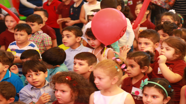 KG students reception